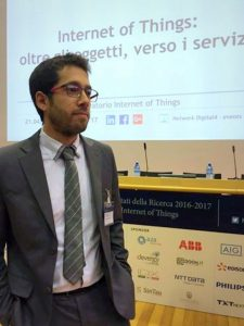 Giulio Salvadori, ricercatore dell'Osservatorio Internet of Things